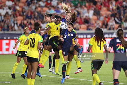 Caribbean Sports- Jamaica's Women Lose To Team USA